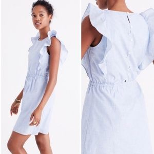 NWOT Madewell Ruffle Dress